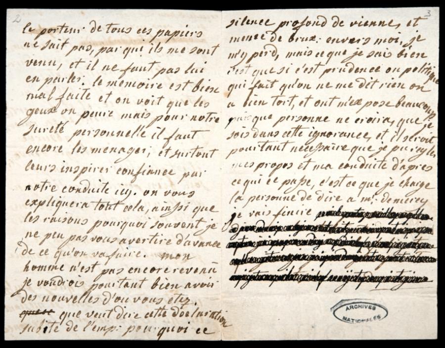 Marie Antoinette Letters