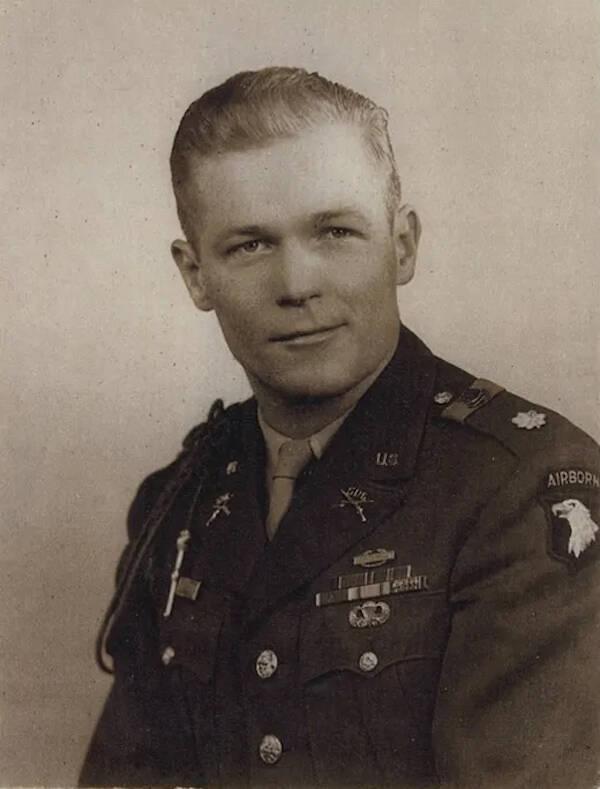 Military Portrait Of Richard Winters