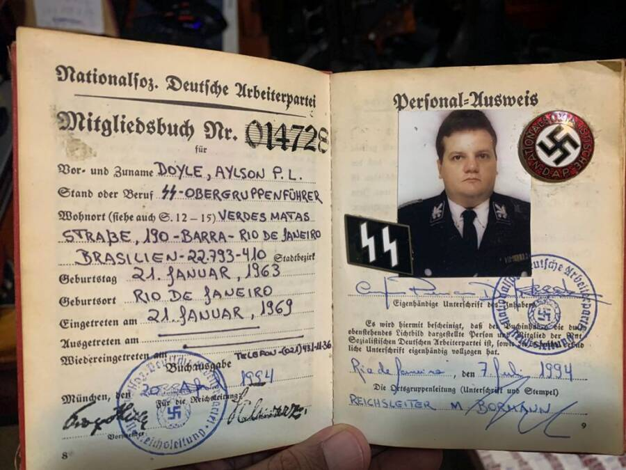 Nazi Party Identification Papers