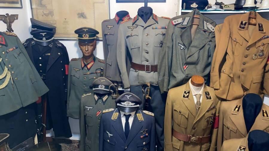 Nazi Uniforms In Brazil Home
