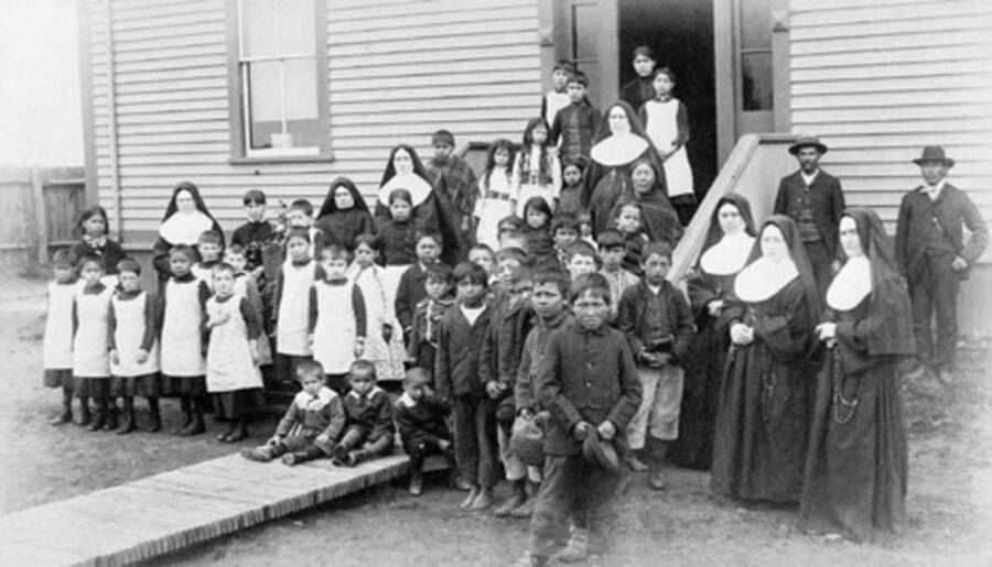 Nuns And Indigenous Children