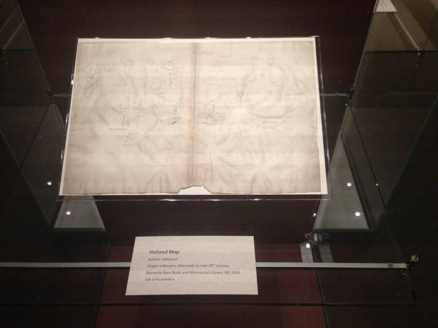 Yale Vinland Map On Display