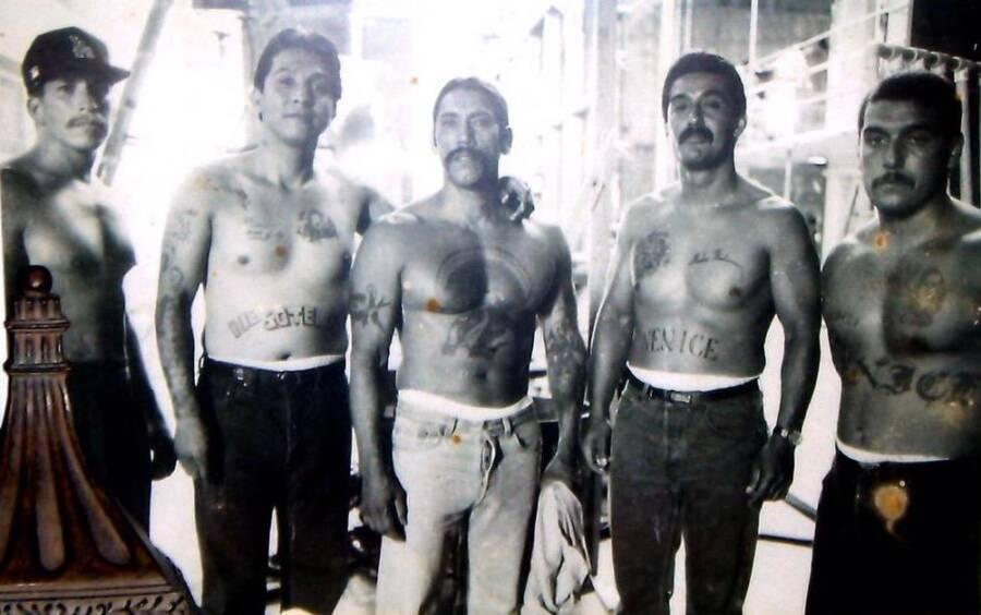 Young Danny Trejo In Prison